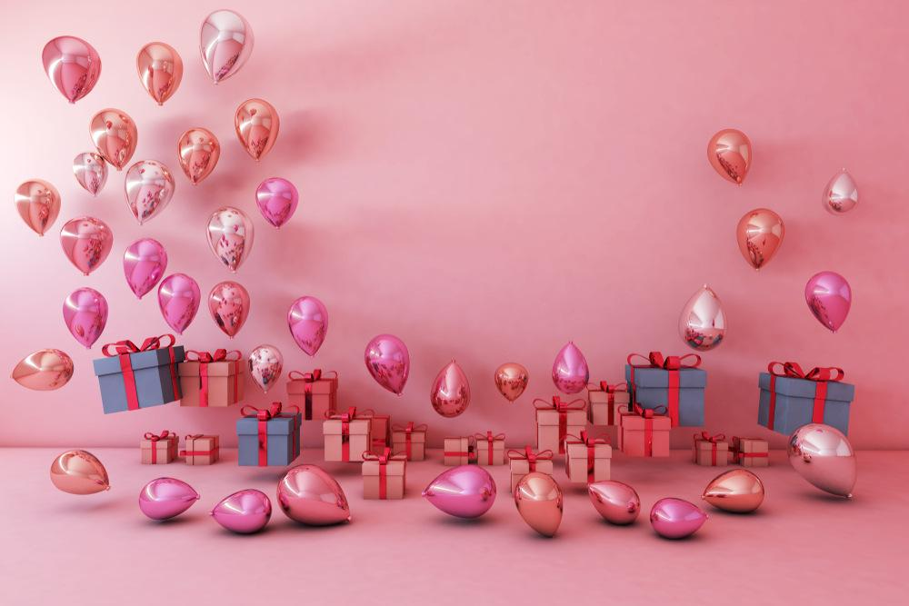 2019 Balloon Gift Box Fond Photo Picture Background Graduation Backdrops For Photography E190127A49 From Gameshome, $21.63 | DHgate.Com