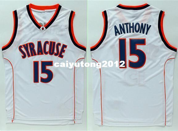 9e955ebef78 2019 Carmelo Anthony #15 Syracuse Orangemen College Men Basketball Jersey  XS 6XL Vest Jerseys Ncaa From Caiyutong2012, $43.52 | DHgate.Com
