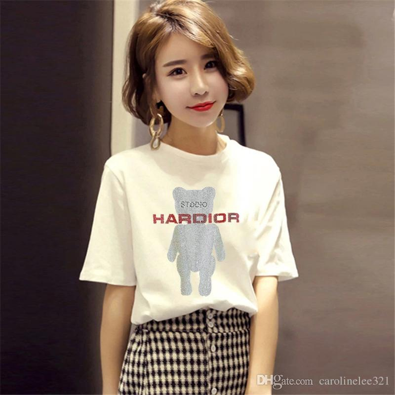 5746bb8b Summer Korean Version Of The New Fashion Leisure Printing Thin Hot Short  Sleeved Women,Soft And Comfortable Cool T Shirts For Boys Online Cool Team  Shirts ...