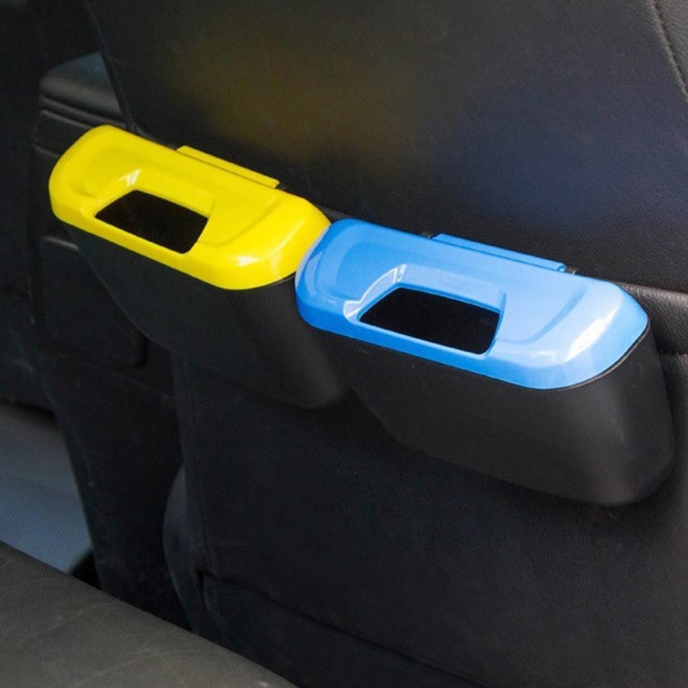 Universal Travel Auto Car Trash Can Bin Bag Rubbish Garbage Holder Tool Mini Nets Stowing