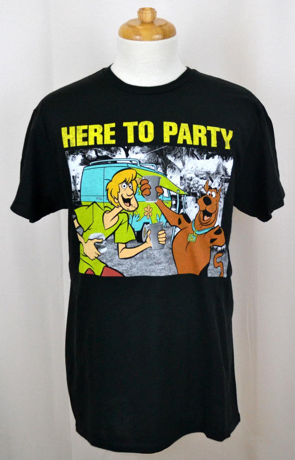 Scooby Doo Short-Sleeve T Shirts Comfort Crew Neck Soft 100/% Cotton Tees