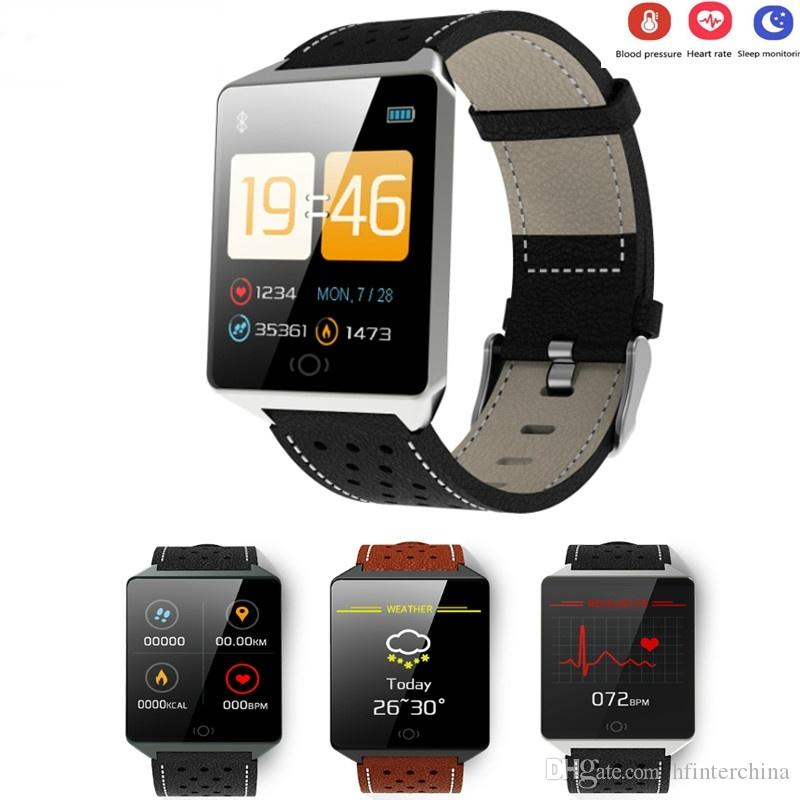 CK19 Smart Wristband Heart Rate Monitor Smart Fitness Bracelet Blood Pressure Pedometer IP67 Waterproof Smartwatch for Android