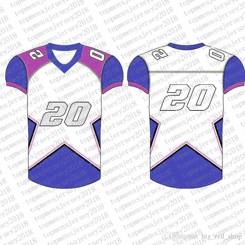 meet ac648 0a390 Top Custom Football Jerseys Mens Embroidery Logos Jersey Free Shipping  Cheap wholesale Any name any number Size S-XXXL222