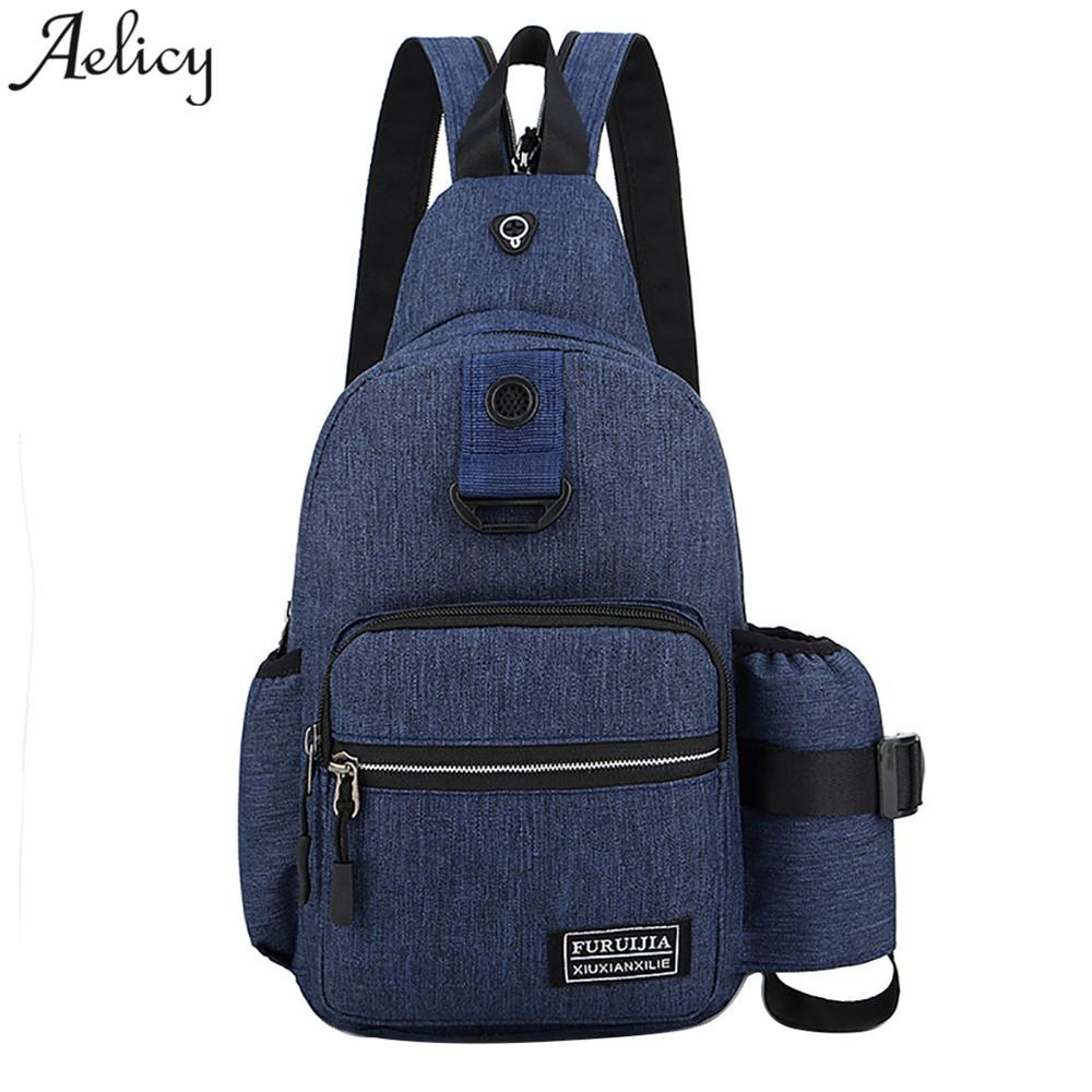 Aelicy Bags for Women Fashion Women Men Oxford Cloth Backpack Men ... fa46bcc547c1f