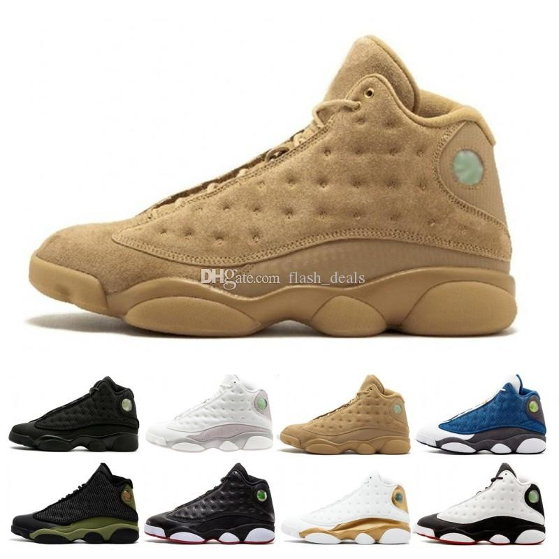 the best attitude 00359 b9ecb 2019 Top 13 13s Men Basketball Shoes Chicago Bred He Got Game History Of Flight  Wheat Designer Shoes Athletics Sport Sneakers Basketball Shoes For Kids ...