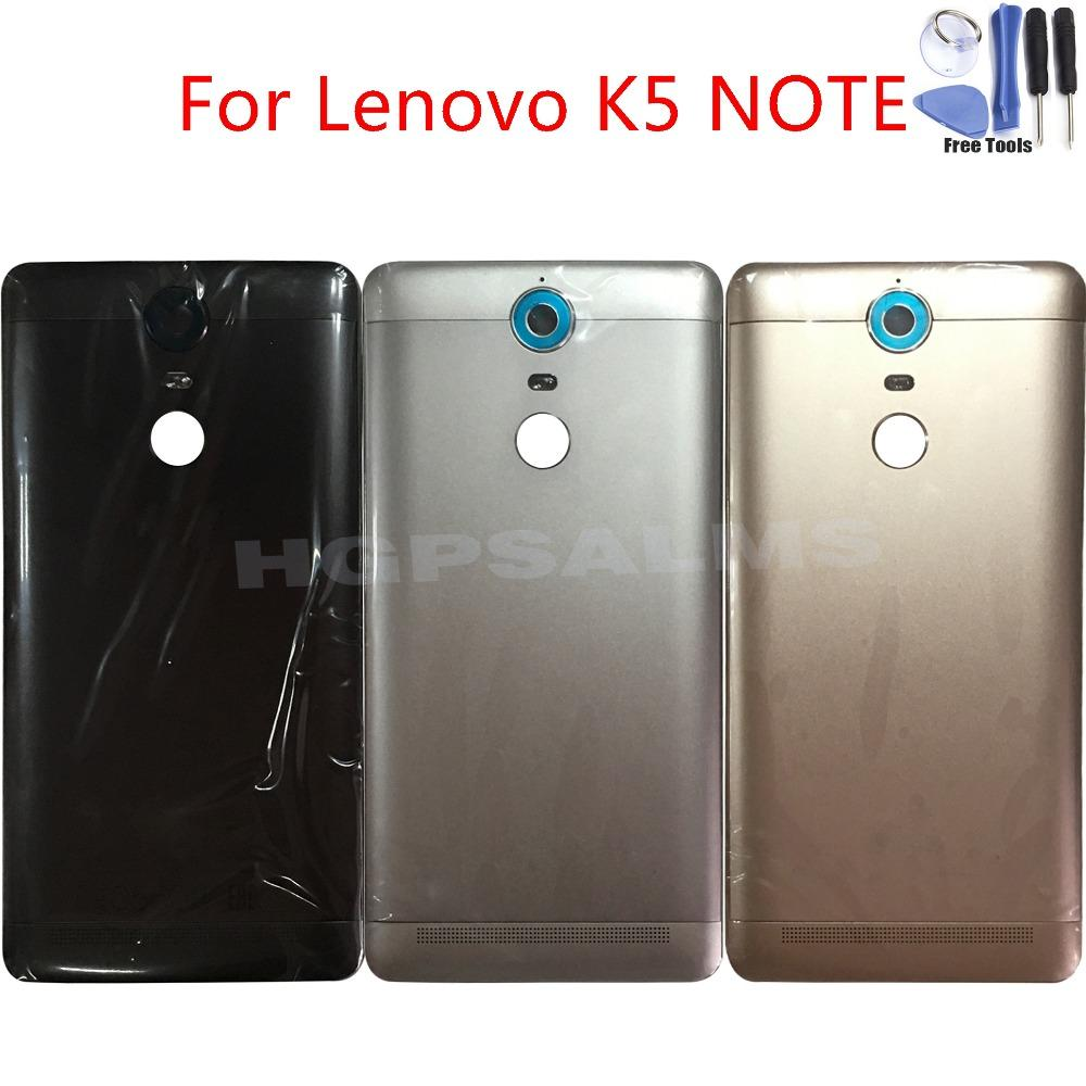 3 Color New Battery Door Back Cover Housing Case For Lenovo K5 NOTE  A7020a48 K52t38 K52e78 With Volume Buttons Camera Glass