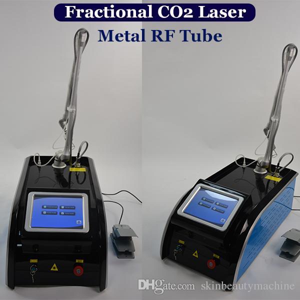 عالية الجودة المعدنية أنبوب CO2 ليزر CO2 كسور معدات الليزر الجلد الظهور تصبغ العلاج بالليزر آلة مصنع الأسعار