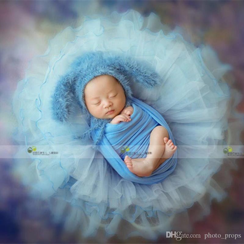 Stretch Fabric Stretch Jersey Knit Wrap Newborn Photography Props