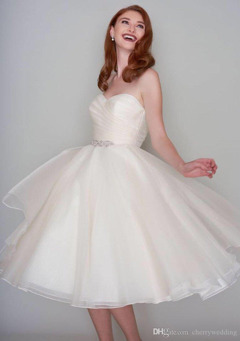 Plus Size Wedding Dresses Vintage Wedding Dress Short Wedding ...