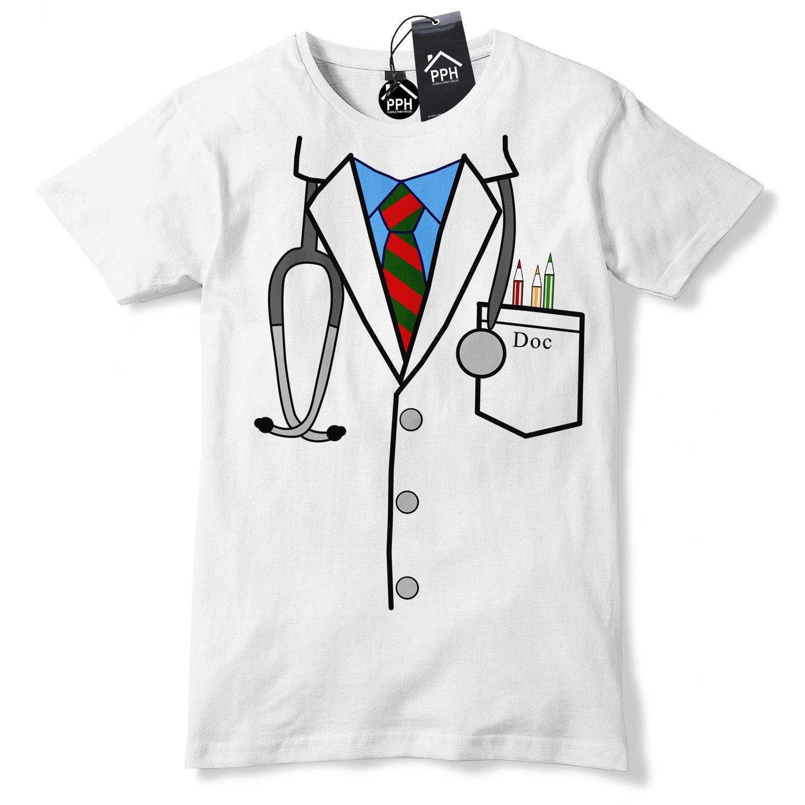 29b1ac67f9 Doctor Uniform Funny T Shirt Novelty Gift Hospital Nurse Surgeon Gift Tshirt  547 Hipster O Neck Casual Short Sleeve New High Quality Long Sleeve Shirt T  ...
