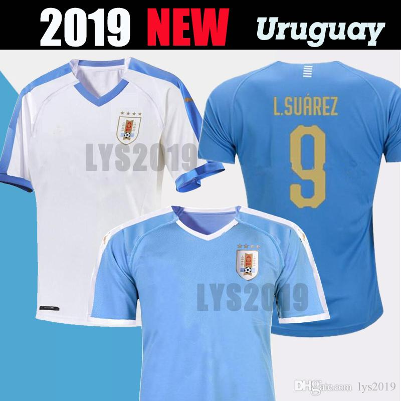 purchase cheap dcbe0 1a500 2019 America s Cup Uruguay national team home and away jersey L.SUAREZ DE  ARRASCAET D.GODIN E.CAVANI World Cup Men s Football Shirt