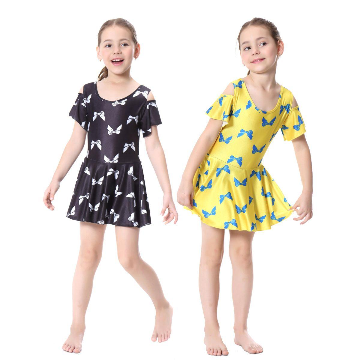 afb8eaee4c5f3 Girls Muslim Swimwear Islamic Children Short Sleeve Skirt Swimsuits Arab  Islam Beach Wear Swimdress Suits Burkinis Swim Pant
