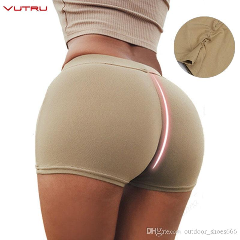 Vutru Yoga Shorts Push Up Sports Wear Women Gym Fitness Compression Elastic Seamless Yoga Shorts Running Short Deportivo Mujer #189302