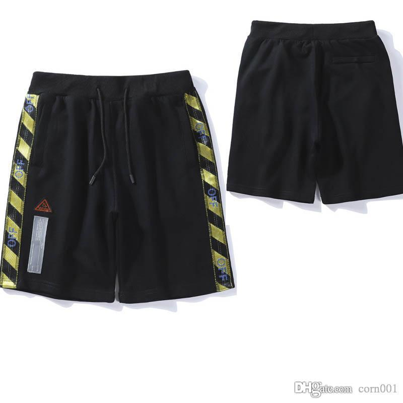 19SS Europe and the United States tide brand summer new forbidden into the webbing shorts youth summer casual five pants wholesale