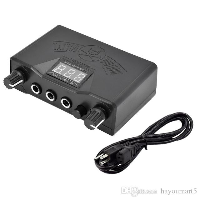 LED Digital Tattoo Power Supply Black Color Durable Best Price ...