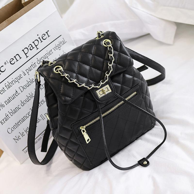 2019 New Designer Backpacks Hot Women Fashion Backpack High Quality Totes  Handbags PU Leather School Bags Travel Casual Back Packs Backpacks Bags  From ... 8275bd4f452f3