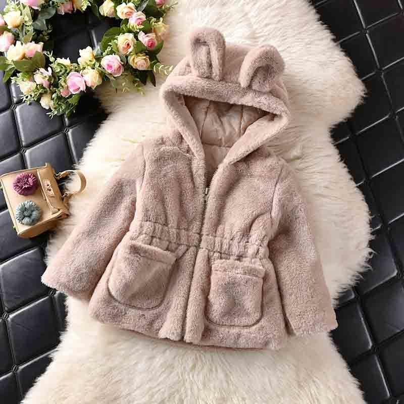 5a824d652f85 BibiCola 2018 Winter New Girl Coats Warm Fashion Children Girls ...
