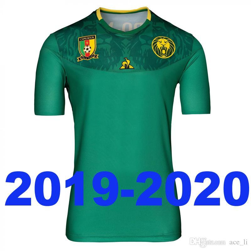 0ca9299ad9 New Cameroon 2019 2020 Home Soccer Jersey Green Football Shirt Maillots De  Foot Best Thailand Quality Camisetas De Fútbol UK 2019 From Ace_li, ...