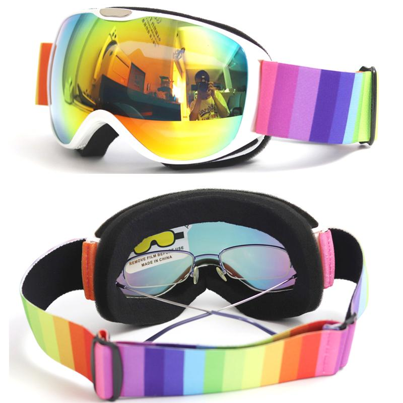 2f3869b1fa0 2019 Child Double Lens Ski Goggles Anti Fog UV400 For Outdoor Sports Skiing  Goggles For Kids Snow Snowboard Protective Glasses From Hongmihoutao