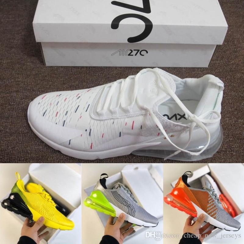san francisco d74e9 25729 Compre 2018 New Chaussures Hombres Mujeres 270 Zapatillas Campeón De La  Copa Del Mundo Francia Edición Limitada Flair 270s Diseñador Zapatos  Zapatillas De ...