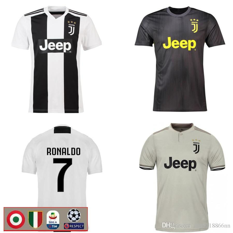 hot sale online bb462 5daf0 RONALDO DYBALA 18 19 soccer jersey juventus football shirt MANDZUKIC  CHIELLINI Camiseta de fútbol 2018 2019 BERNARDESCHI maillot de foot