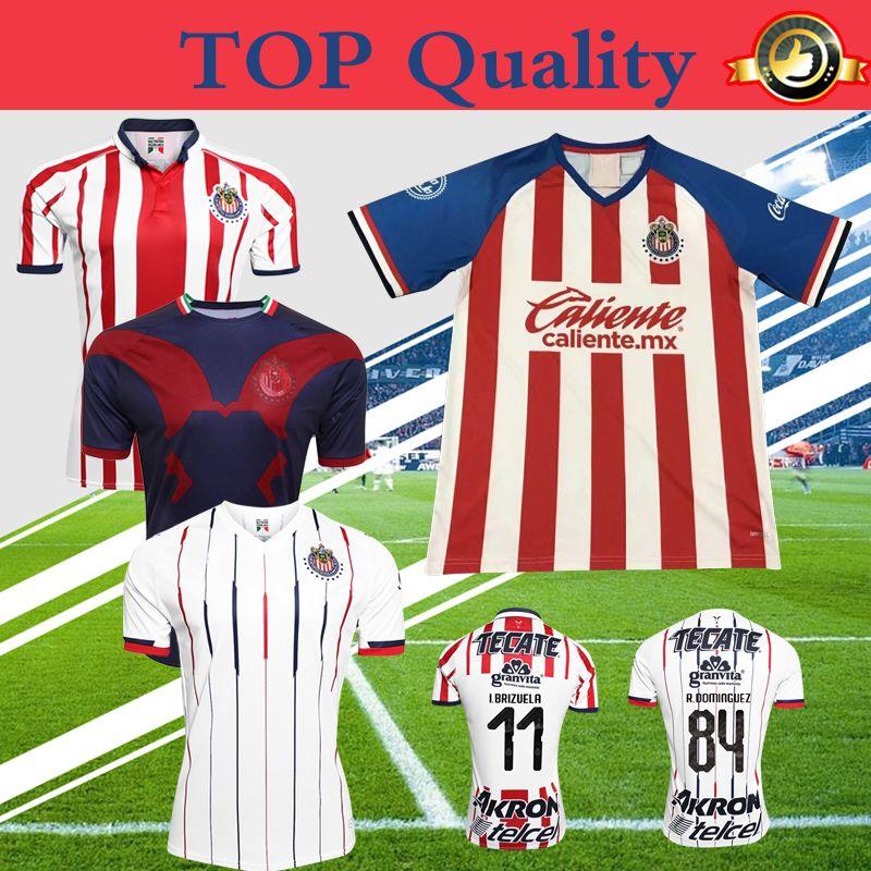 detailed look 344d9 1f57c chivas jersey 2019 2020 new soccer shirt home away third guadalajara  uniforms Top quality More 10pcs Free DHL Shipping