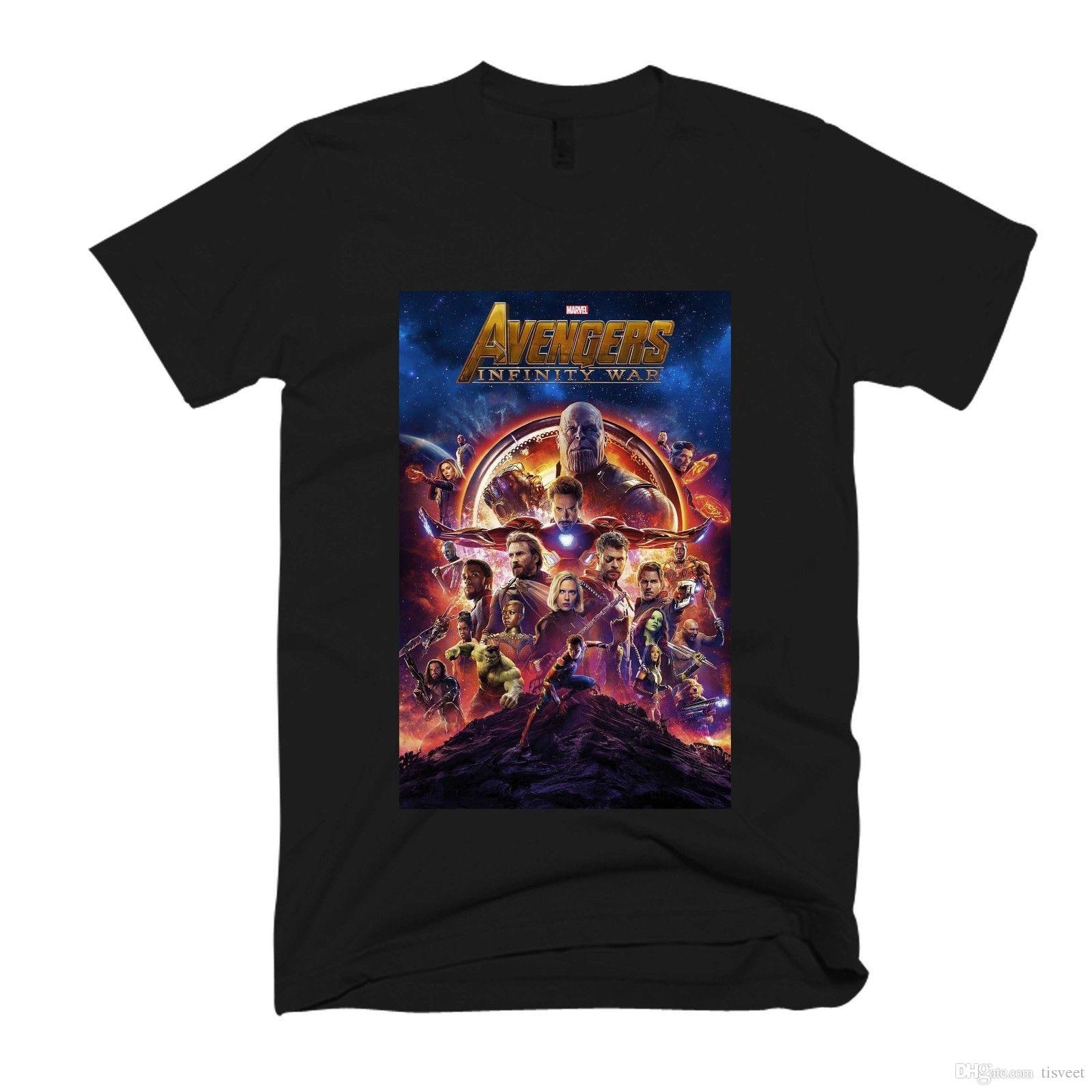 47a6d245 Avengers Infinity War Poster Men'S / Women'S T Shirt Design Own T ...