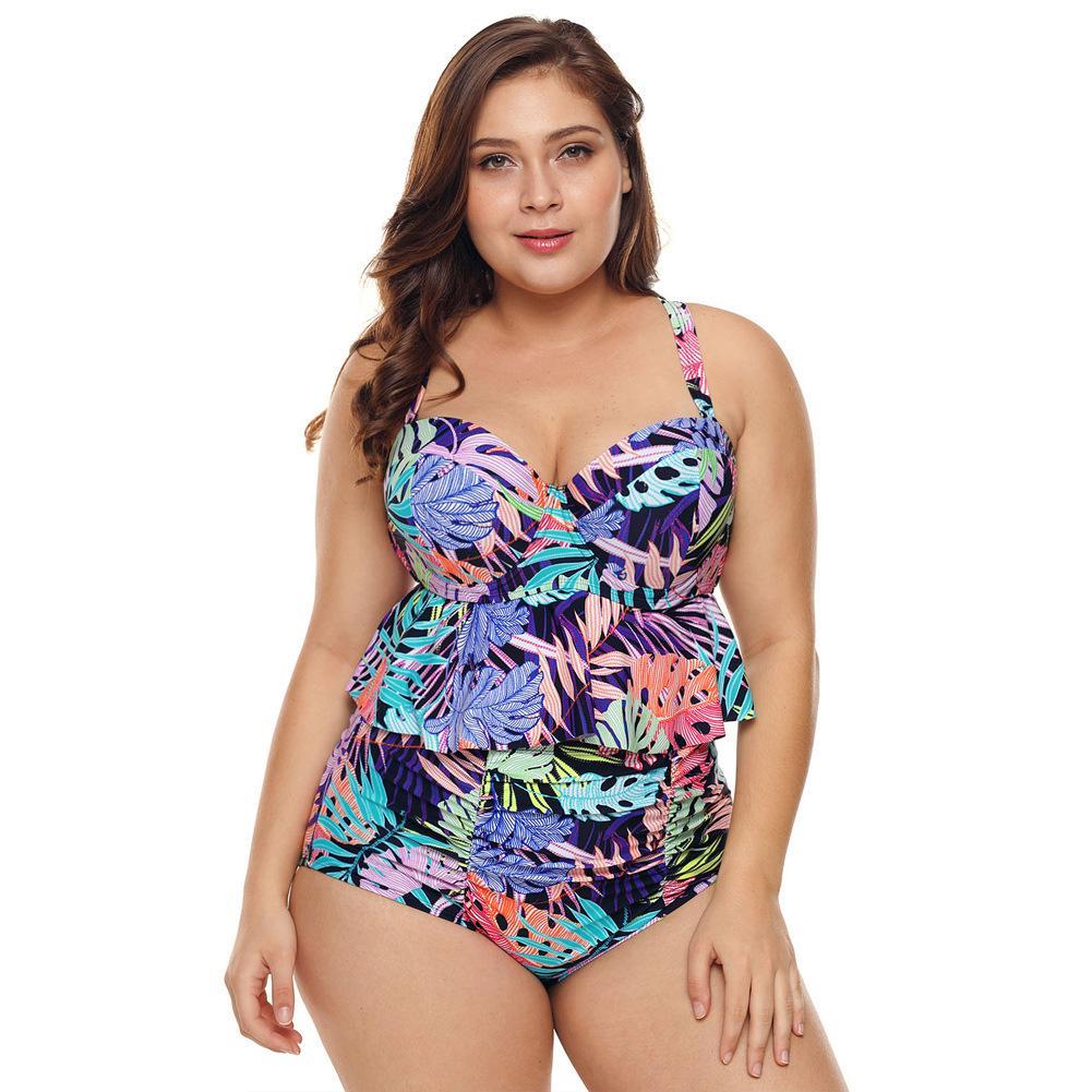 eb89710632d2 Bañador mujer vacaciones pecho grande dividido bikini triángulo spa 410756