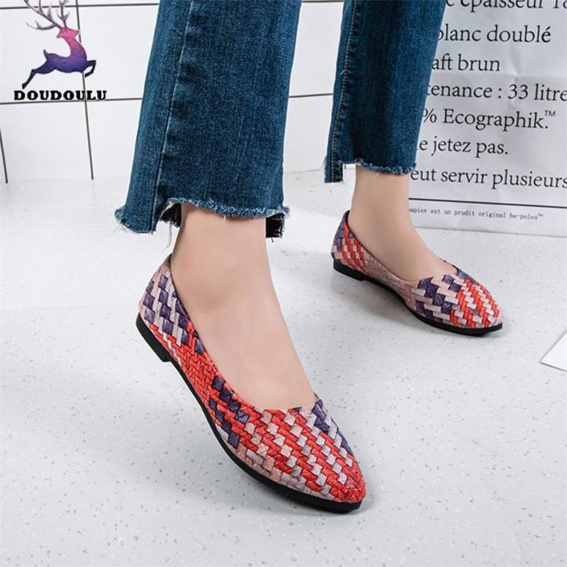 1b25135d Compre 2019 Vestido De Moda Zapatos De Mujer Chica Primavera Colores  Mezclados Casual Mujer Bonitos Zapatos Mujer 2018 Nuevos Zapatos De Mujer  De Alta ...