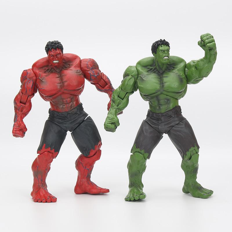 "Red Hulk 10 ""26cm Action Figure Pvc Figure Toy Hands Adjusted Movie Lovers Collection"