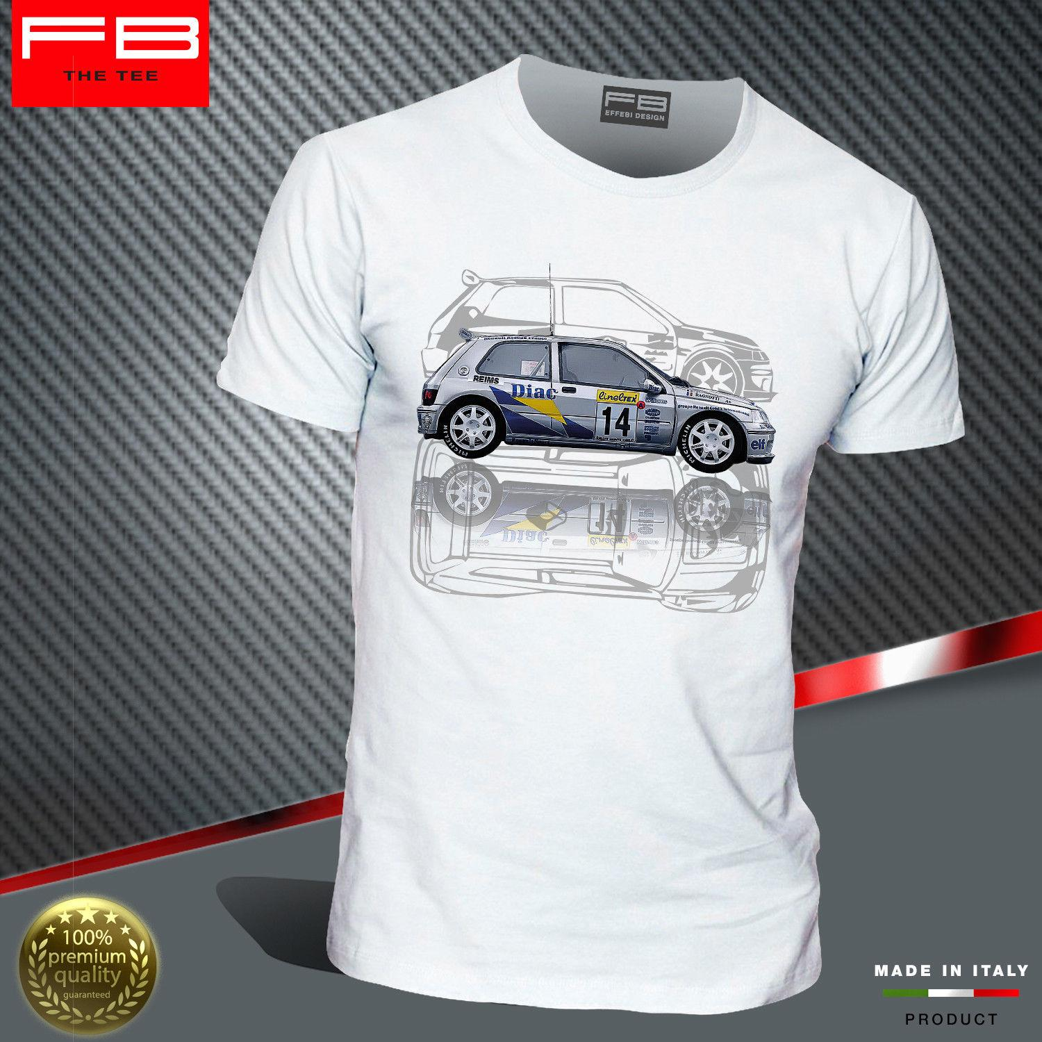 T Shirt Renault Clio Williams Maxi Kit Car Team Diac France A Ragnotti Wrc Fbteefunny Free Shipping Unisex Casual Top