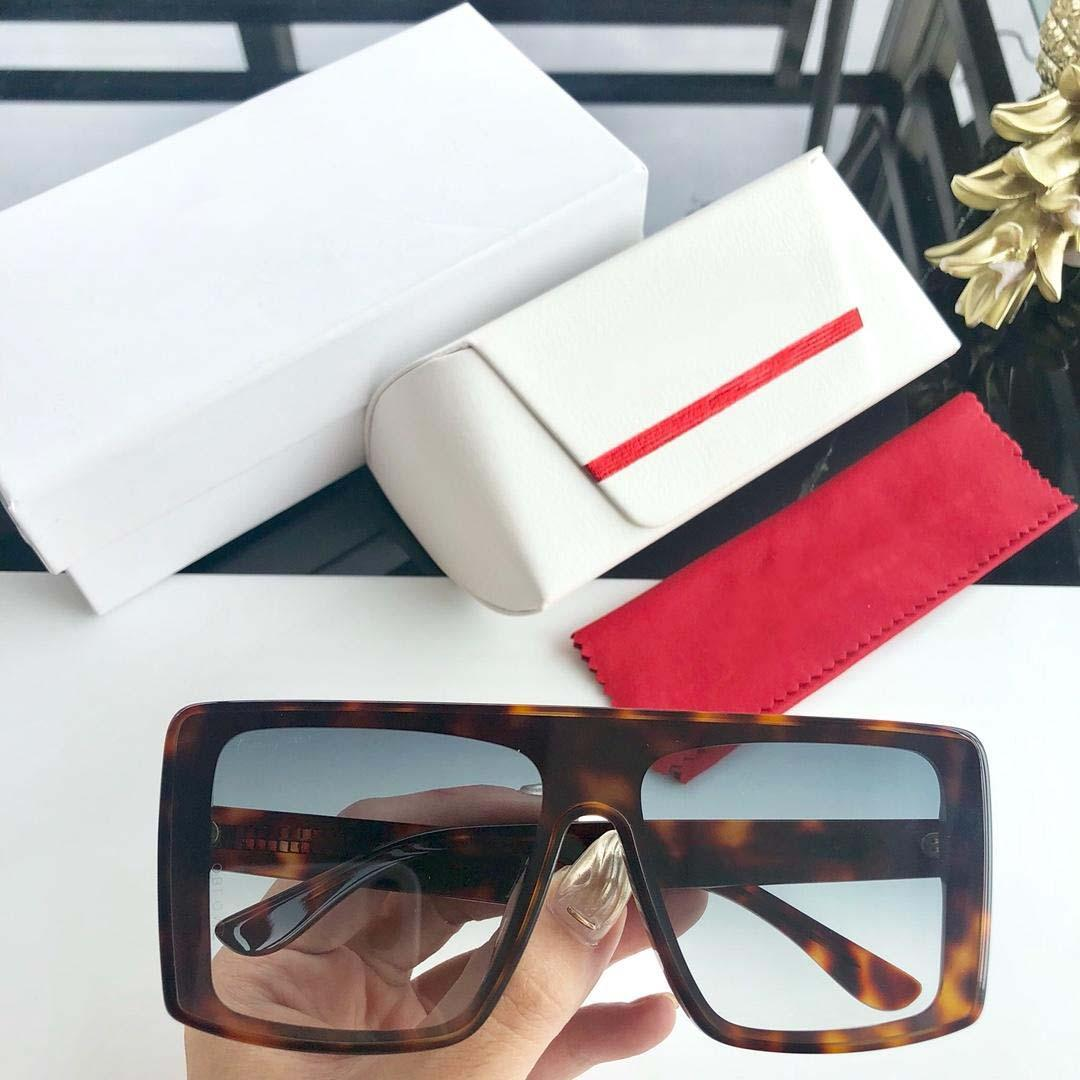 939 Eyewear Luxury Sunglasses Large Frame Elegant Special Designer Frame Built-In Circular Lens Top Quality Come With Case