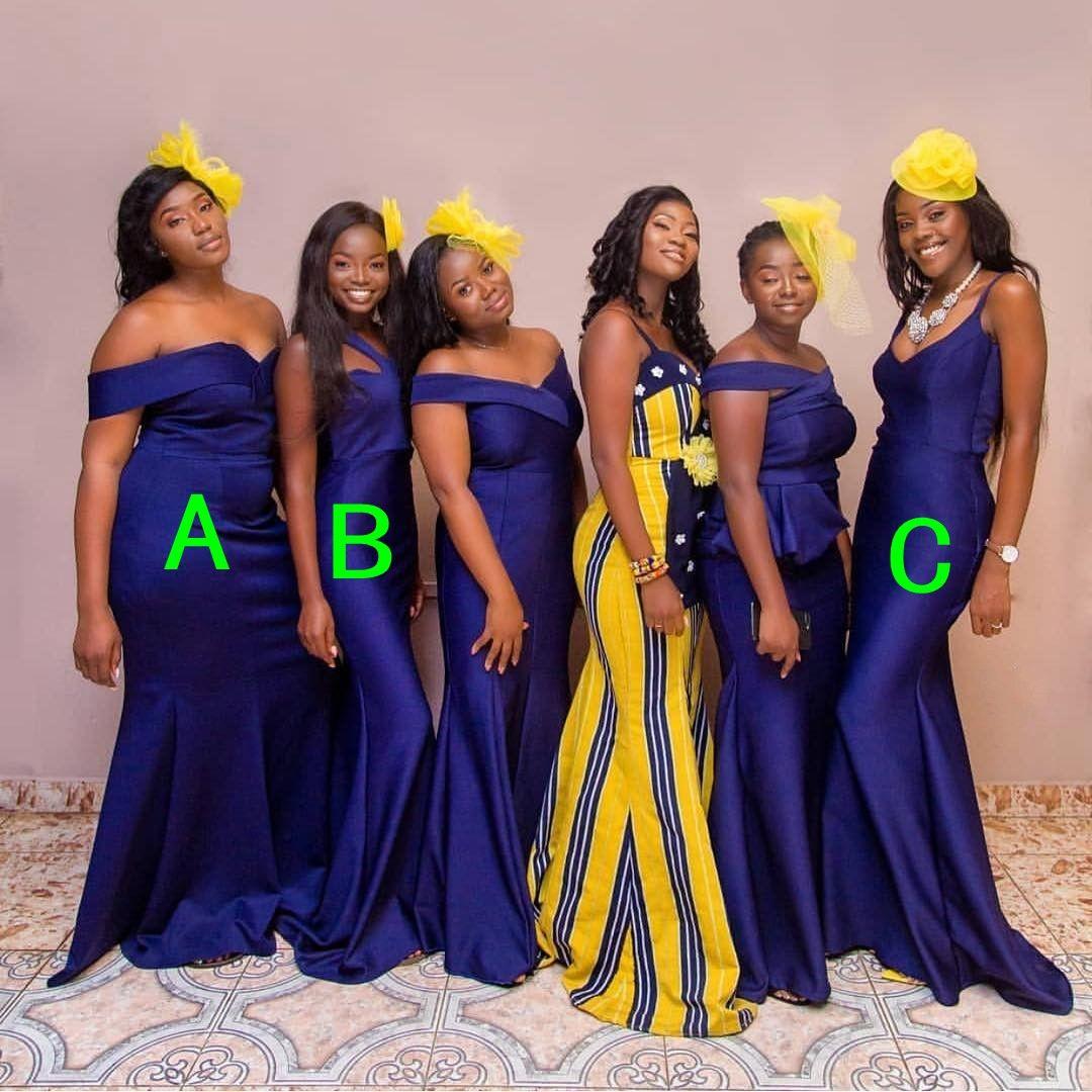 a8cd445b567 Custom Made Navy Bridesmaid Dress Black Girls Maid Of Honor Dresses South  Africa Prom Gown Cheap Burgundy Bridesmaid Dresses Convertible Bridesmaid  Dress ...
