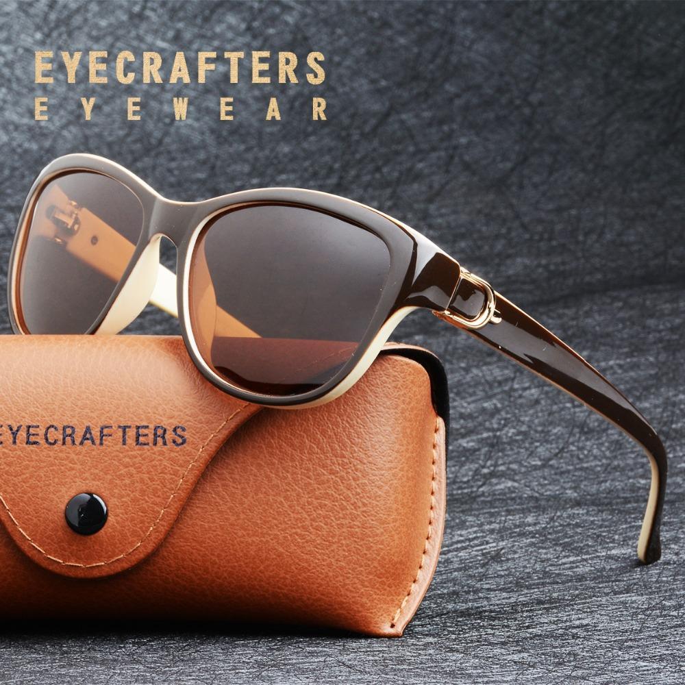 0e1c3067d54 2018 Luxury Brand Design Cat Eye Polarized Sunglasses Womens Lady ...