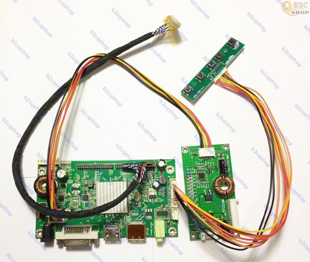 HDMI DVI DP LCD Controller Board Monitor Kit inverter kit for 2560X1440  LM270WQ1(SD)(B1) LM270WQ1-SDB1 Monitor display screen