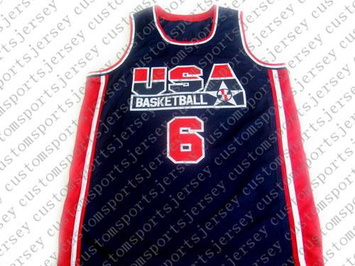 wholesale Patrick Ewing #6 1992 Dream Team New Basketball Jersey Stitched Custom any number name MEN WOMEN YOUTH BASKETBALL JERSEYS