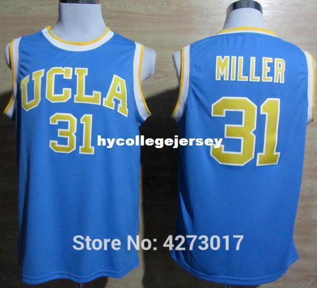 5b5204bc6510 2019 UCLA Bruins College 31 Reggie Miller Jersey Men Blue For Sport Fans  Breathable Sewing LaVine Basketball Jerseys Cheap Ncaa From  Hycollegejersey