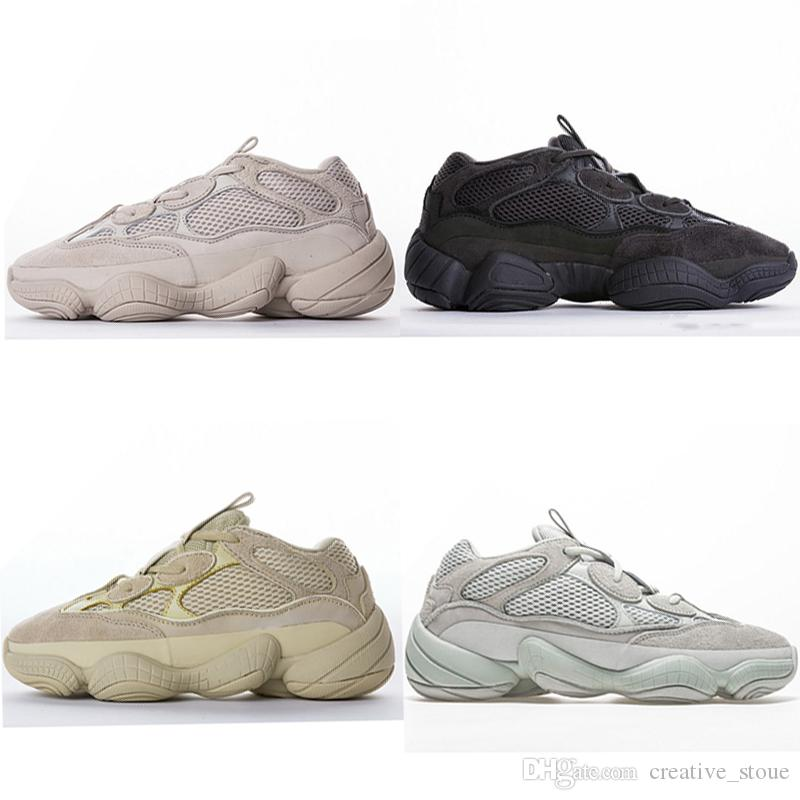 brand new 5a74e ecb5b Adidas Yeezy 500 Desert Rat Luminous Kids Designer Shoes For Girls Boys  Noctilucentes Kanye West Yee zy 500 Zapatillas deportivas Zapatillas Infant  ...