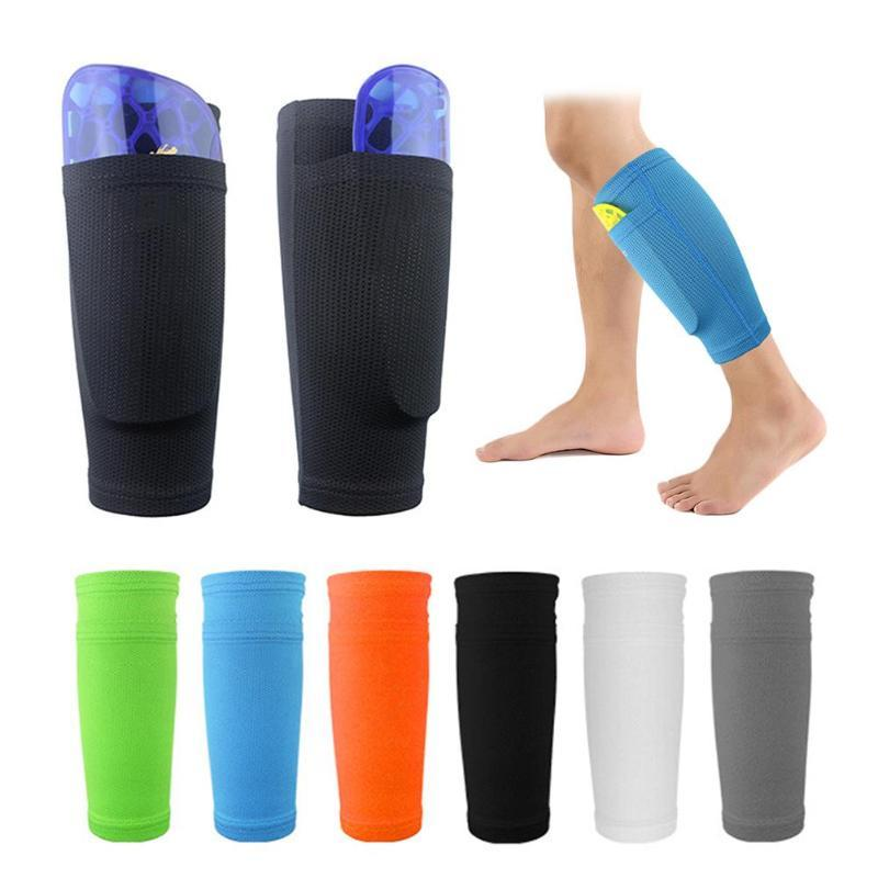 bacd09ad27c5e 2019 Soccer Protective Socks With Pocket For Football Shin Pads Leg Sleeves  Supporting Shin Guard Adult Support Sock Guard From Brandun, $33.16    DHgate.Com