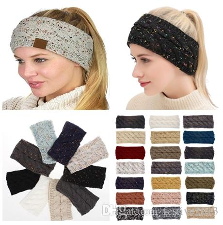 8d866261cc719 Lady Hair Accessories Fashion Lovely Cc Hairband Free Ship Knitted Designer  Headbands CC Brand Hair Bands Luxury Head Scarf Online with  3.66 Piece on  ...