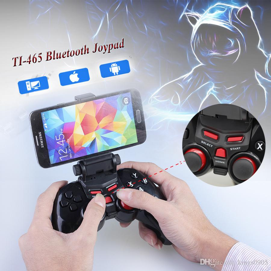 TI-465 Joystick Bluetooth Wireless Game gamepad Controller Joypad for Android IOS Apple Smart Mobile Phone Tablet PC