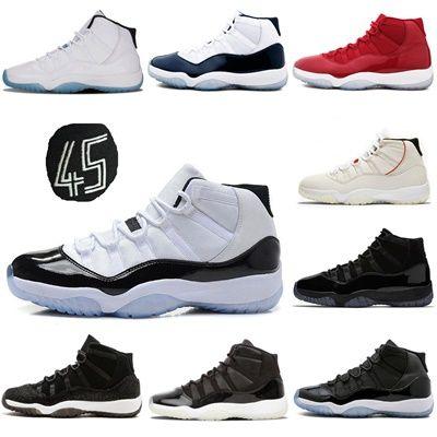 1e94e934ee5ecf With Box Men Platinum Tint XI 11s Concord 45 Basketball Shoes 11 Gym ...