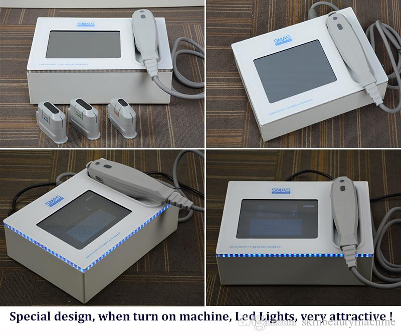 2019 Best hifu slimming machine body skin lifting hifu face massage devices ultrasound skin tightening therapy
