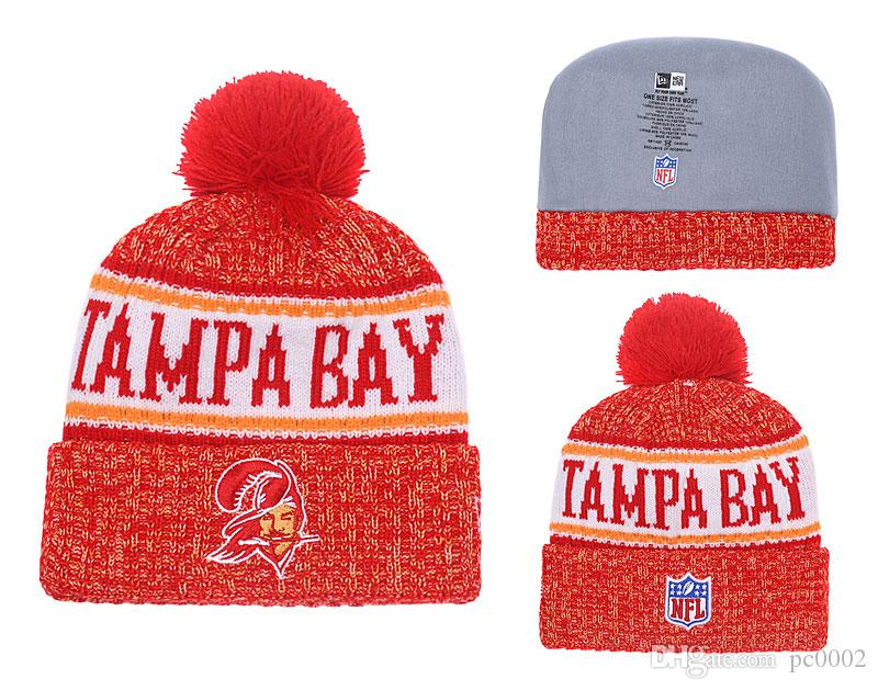 fdae6efb Men's Tampa Bay Buccaneers New Purple 2018 Sideline Cold Weather Official  Sport Sideline Cold Weather Official TD Knit Hat