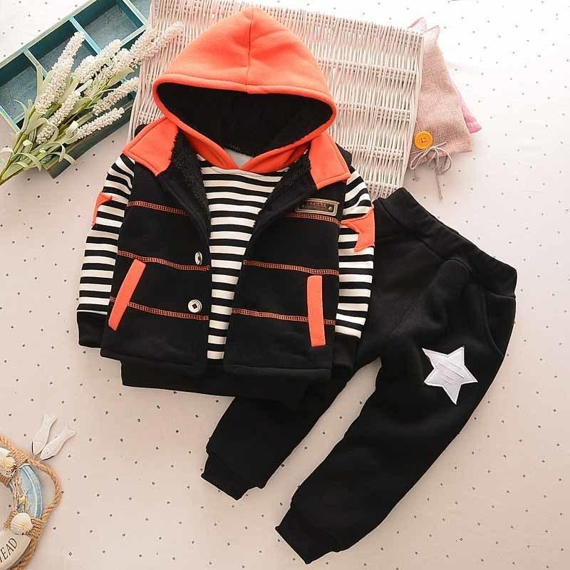 ff572afd25828 2019 Good Quality 2019 Fashion Baby Boys Clothes Set Vest + Gege Hoodie +  Sports Pants Cotton Kids Boys Costume 1 5 Years Old From Nextbest08