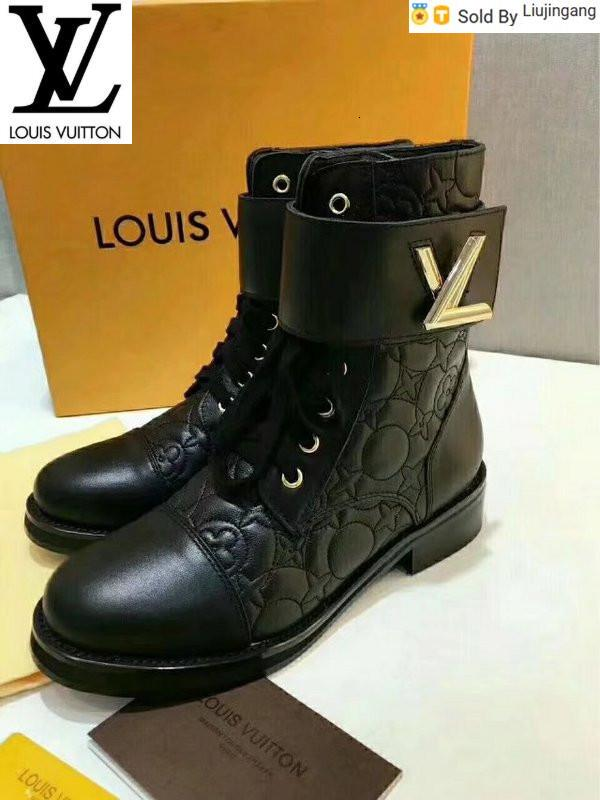 Liujingang 6131 classic electric embroidery Martin boots Riding Rain Boot BOOTS BOOTIES SNEAKERS Dress Shoes