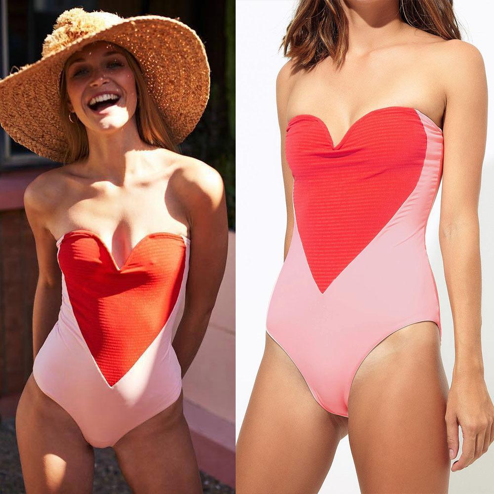 d1aa769dd7 2019 Big Lazy Cat One Piece Swimsuit Women Solid Swimwear 2019 New Sexy  Cross Print Bikinis Set Beach Wear Bikini Monokini Bathing Suit From  Youfanweistore