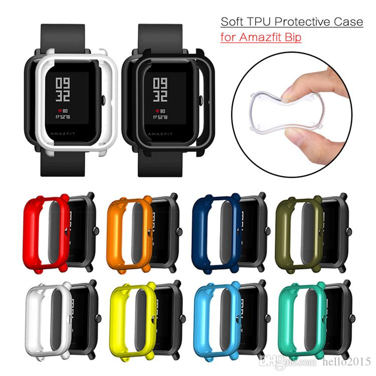 Soft TPU Case Cover Shell Protector For Xiaomi Huami Amazfit Bip Youth/Lite