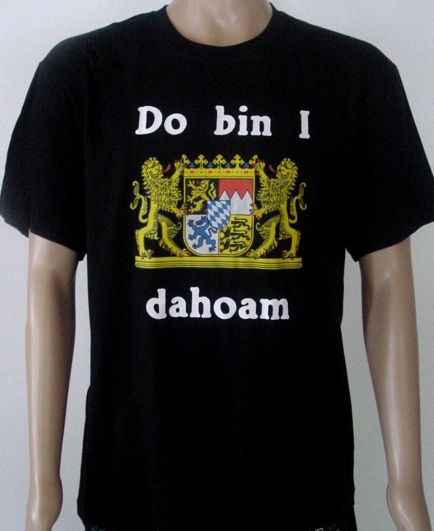 4057ef7c08c1 Bayern T Shirt Do Bin I Dahoam Schwarz Größe XL NEU Classic Quality ...