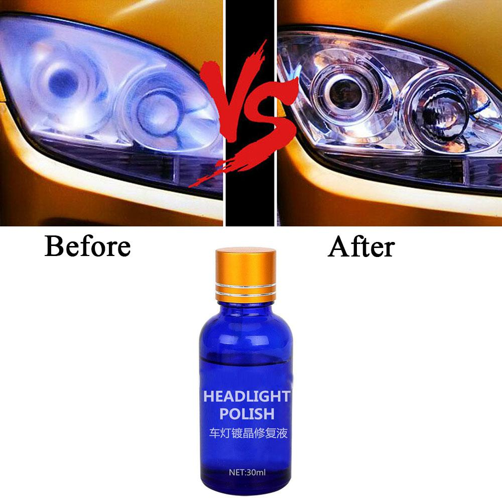 2019 30ml Headlight Restoration Kit Liquid Headlight Polishing Fluid